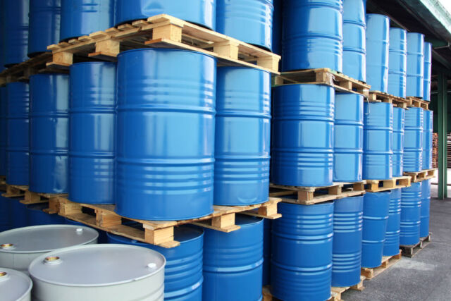 Drums for chemical liquids